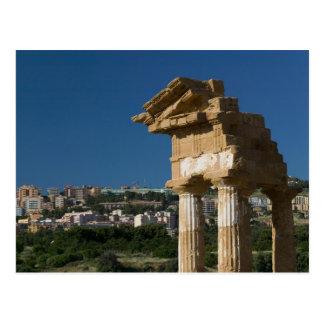 Italien, Sizilien, Agrigent, LaValle dei Templi, 2 Postkarte