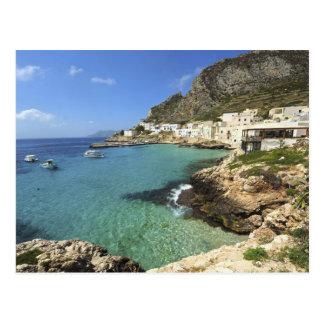 Italien, Sizilien, Egadi Inseln, Levanzo, Postkarte
