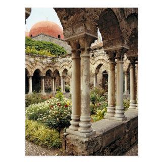 Italien, Sizilien, Palermo. Die Klöster überleben Postkarte
