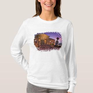 Italien, Sizilien, Palermo, Teatro Massimo Oper T-Shirt