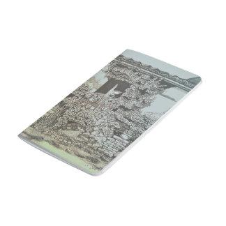 Italien-Taschen-Zeitschrift Taschennotizbuch