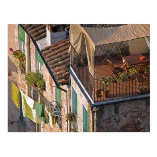 Italien, Toskana, Lucca, Ansicht der Stadt und 5 Postkarte
