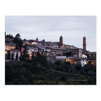 Italien, Toskana, Montalcino Postkarte