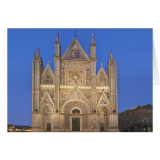 Italien, Umbrien, Orvieto, Orvieto Kathedrale Karte