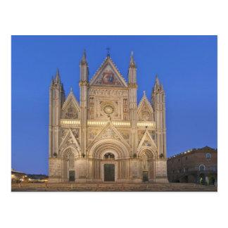 Italien, Umbrien, Orvieto, Orvieto Kathedrale Postkarte