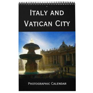 Italien und der Vatikan Kalender