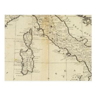 Italien und Sardinien Postkarte