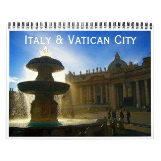 Italien und Vatikanstadt 2018 Abreißkalender
