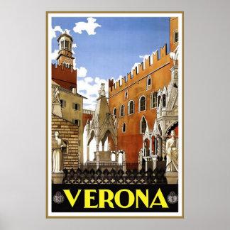 Italien Verona Plakate
