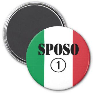 Italiener-Bräutigame Sposo Numero UNO