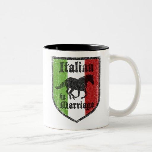 Italiener durch Heirat-Kaffee-Tasse