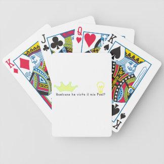 Italienisch-Dummkopf Bicycle Spielkarten