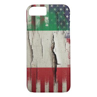 Italienische amerikanische Flagge der iPhone 8/7 Hülle