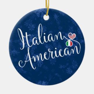 Italienische amerikanische keramik ornament