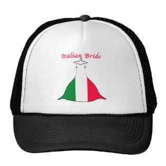 Italienische Braut Retrokultmütze