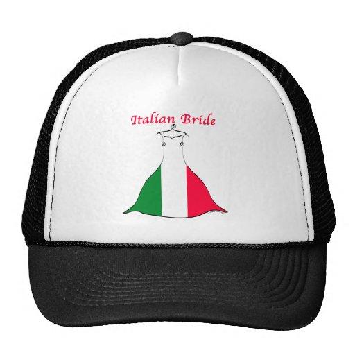Italienische Braut Netz Caps