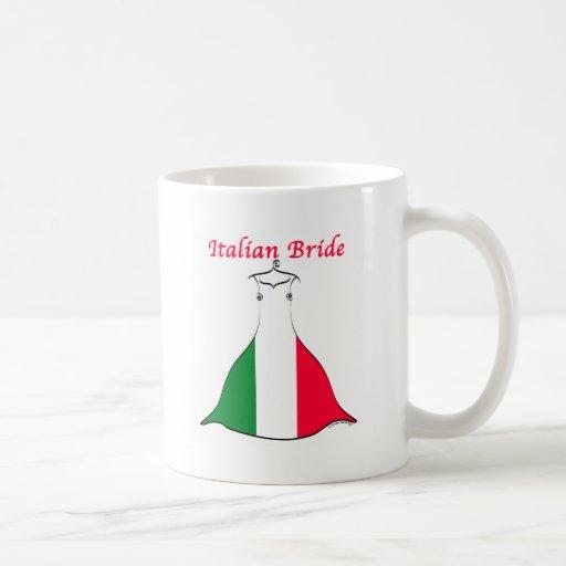 Italienische Braut Teehaferl