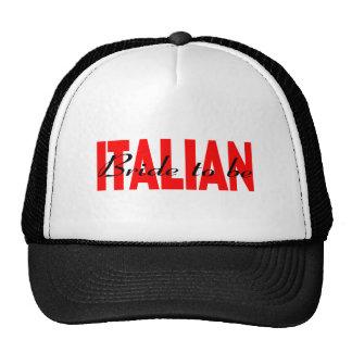 Italienische Braut zum zu sein Baseballcap
