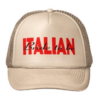 Italienische Braut zum zu sein Retrokult Cap