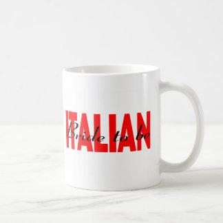 Italienische Braut zum zu sein Tasse