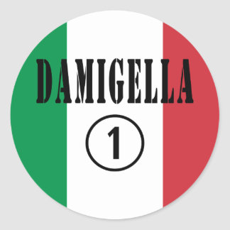 Italienische Brautjungfern Damigella Numero UNO