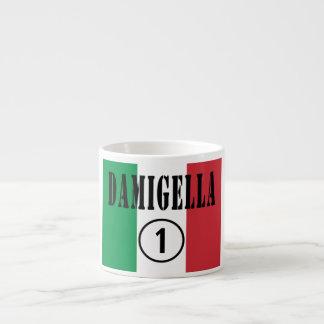 Italienische Brautjungfern: Damigella Numero UNO Espressotassen