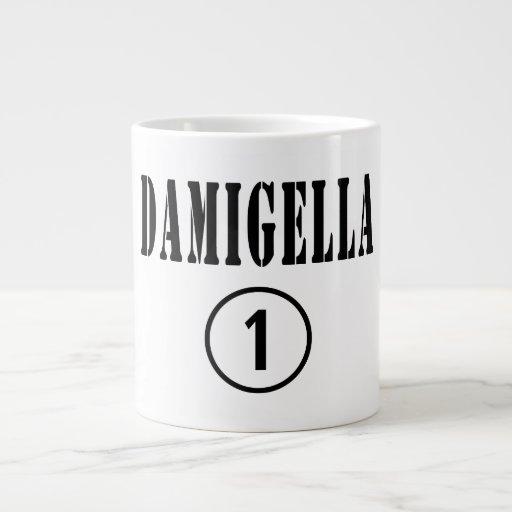 Italienische Brautjungfern: Damigella Numero UNO Jumbo-Tasse