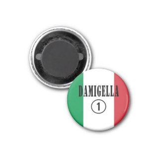 Italienische Brautjungfern: Damigella Numero UNO Kühlschrankmagnet