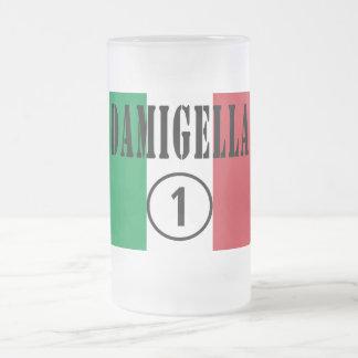 Italienische Brautjungfern: Damigella Numero UNO Matte Glastasse
