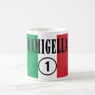 Italienische Brautjungfern: Damigella Numero UNO Tasse