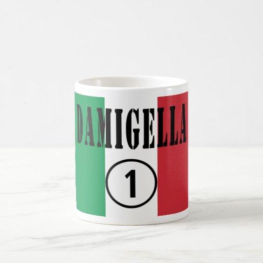 Italienische Brautjungfern: Damigella Numero UNO Tee Haferl