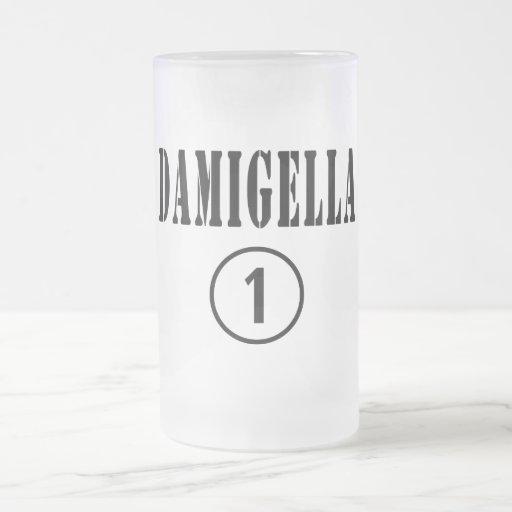 Italienische Brautjungfern: Damigella Numero UNO Kaffee Haferl