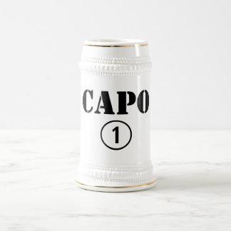 Italienische Chefs Capo Numero UNO Kaffeetassen