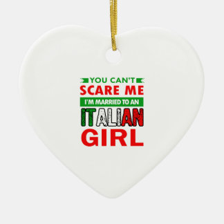 Italienische Ehefrau-Ehefrau Keramik Ornament