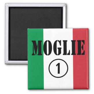 Italienische Ehefrauen: Moglie Numero UNO Magnete