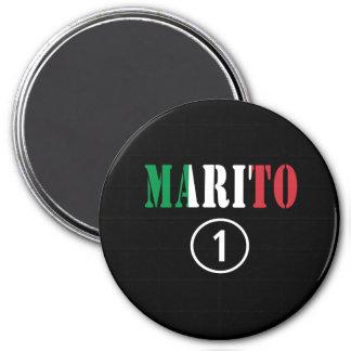 Italienische Ehemänner: Marito Numero UNO Kühlschrankmagnete
