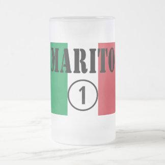 Italienische Ehemänner: Marito Numero UNO Kaffee Haferl
