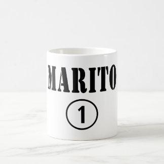 Italienische Ehemänner: Marito Numero UNO Tasse