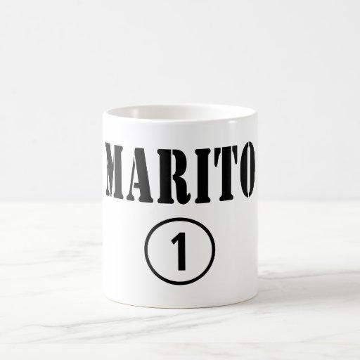 Italienische Ehemänner: Marito Numero UNO Tee Tasse