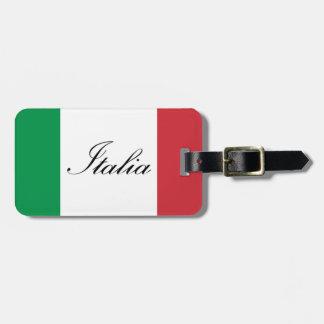 Italienische Flagge - Flagge von Italien - Italien Gepäckanhänger