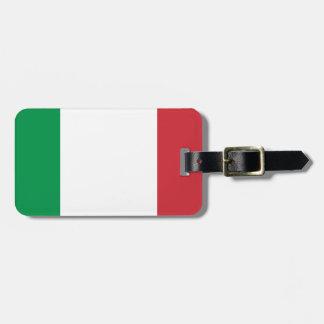 Italienische Flagge - Flagge von Italien - Italien Kofferanhänger