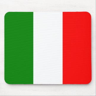 Italienische Flagge von Italien Bandiera d'Italia Mousepads
