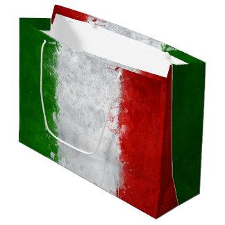 Italienische Flaggen-Geschenk-Tasche Große Geschenktüte