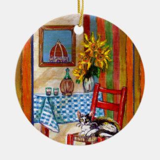 ITALIENISCHE KÜCHE IN Liebe FLORENZ I Keramik Ornament