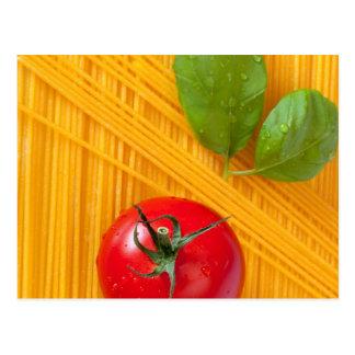 Italienische Küche Postkarte