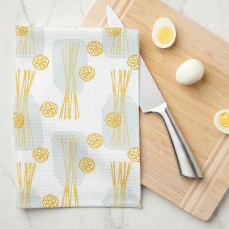 Italienische Küchen-Spaghetti-Nudel-Weckgläser Geschirrtuch