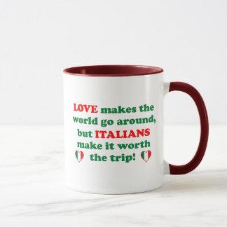 Italienische Liebe Tasse