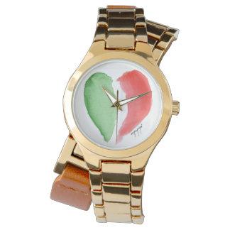 Italienische Liebeuhr Armbanduhr
