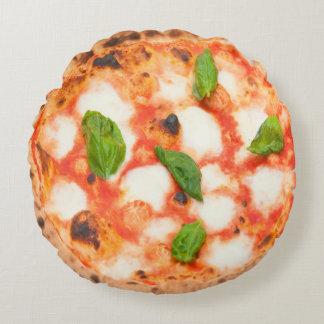 italienische margherita Pizza Rundes Kissen