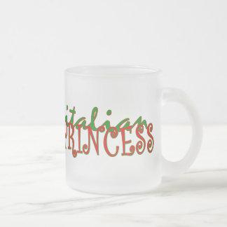 Italienische Prinzessin Mattglastasse